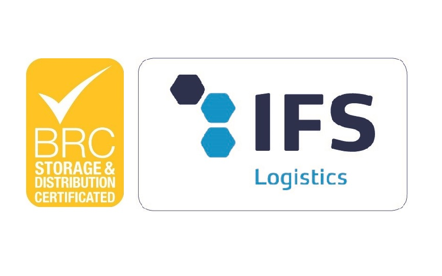 ifs logistics and brc storage distribution certifications norfrigo